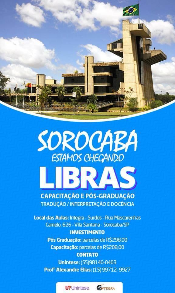 Capacitação e Pós-Graduação em LIBRAS