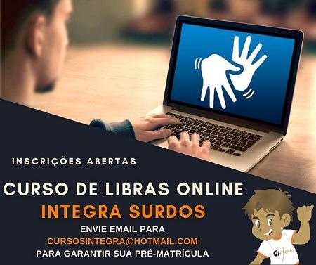 Curso de LIBRAS Online (modalidade EAD)